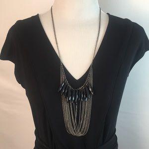 Jewelry - Fab Metallic Fringe Necklace